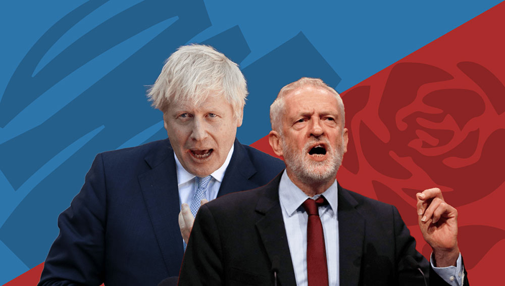 Labour and Conservative Manifestos 2019