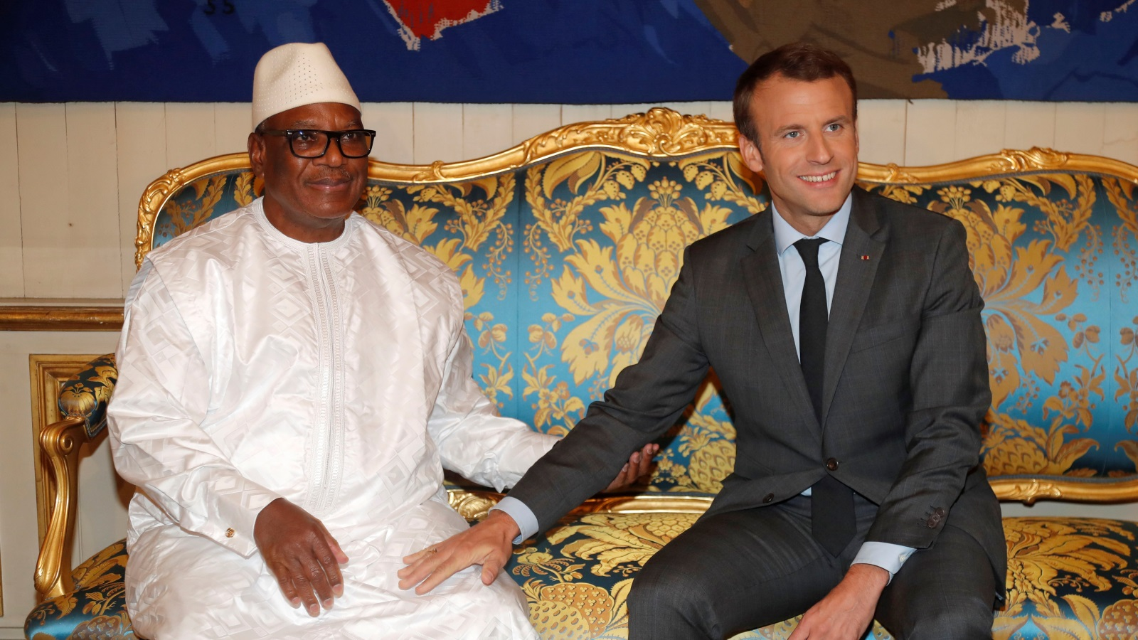 The ousting of France's man Keita: A different coup